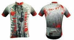 חולצת רכיבה - Funkier J-620 Red Men's Cycling Jersey