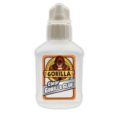 "חדש! דבק גורילה שקוף רב שימושי 51 מ""ל Clear Gorilla Glue"