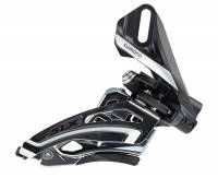 מעביר קדמי Shimano - (677) SLX 10 Spd Double Front Pull; Side Swing-Direct Mount