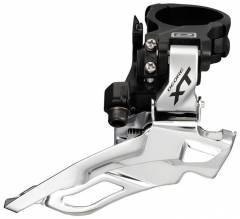 Shimano (786) Deore XT 10 Spd Duble Front Derailleur Dual Pull; Down Swing