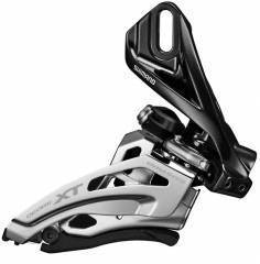 Shimano (8020) XT 11 Spd Double Front Derailleur Front Pull; Side Swing