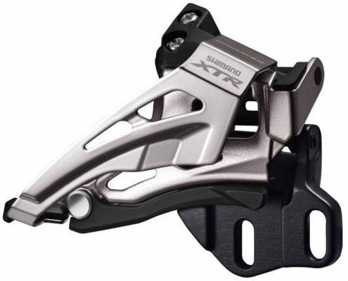 Shimano (9025) XTR 11 Spd Double Front Derailleur Down Pull, Top Swing