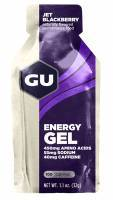 ג'ל אנרגיה פטל שחור -  Gu Energy Gel Jet Blackberry-פטל שחור