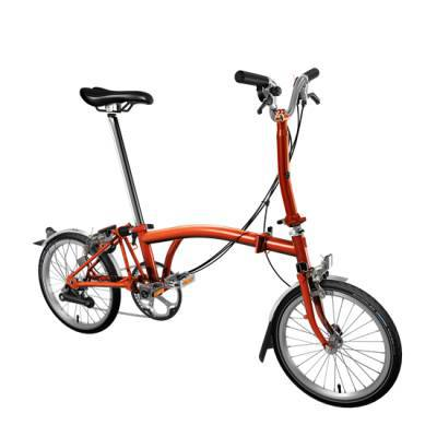 Brompton Folding Bike M6L bike 6 speed