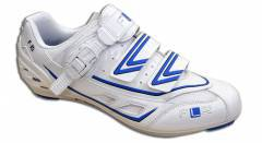 נעלי רכיבה כביש FLR  White/Blue F-15 PRO Road Shoes