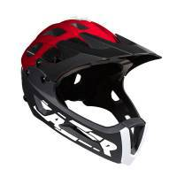 Lazer - Revolution Chinguard + Long Visor-שחור