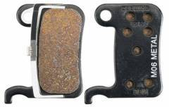 SHIMANO רפידות דיסק - M06 Metal Pad & Spring For XT/XTR BRM965/800/775/765/585