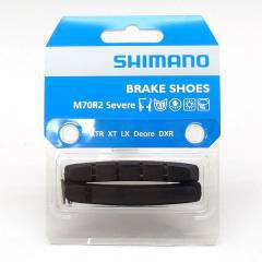 Shimano (970) XTR Brake Shoe Block & Fixing Pin - Severe Condition