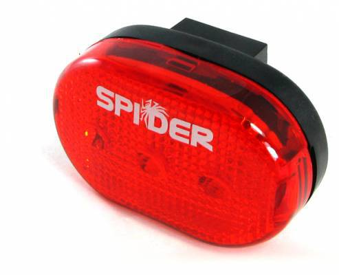 נצנץ 3 לדים אדום 4B - Bicycle Tail Light