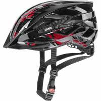 קסדת שטח UVEX - AirWing-2020, Black-Red