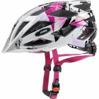 קסדת שטח UVEX - AirWing-2020, Pink-White-Black